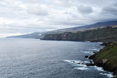 Eatern coastline of Tenerife Island Stock Photography