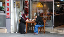 Eatery royaltyfri foto