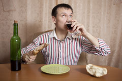 Eating. Royalty Free Stock Photos