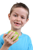 Eating apple Royalty Free Stock Photo