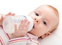 Eating Baby Girl Royalty Free Stock Image