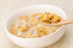 Eating Cereal Royalty Free Stock Photography