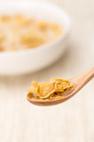 Eating Cereal Royalty Free Stock Photos