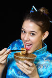 Eating Chinese Stock Photos