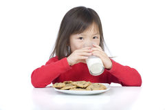 Eating Cookies Royalty Free Stock Photo