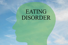 Eating Disorder concept Royalty Free Stock Photos