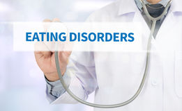 EATING DISORDERS Royalty Free Stock Photo