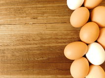 Eating eggs royalty free stock photography