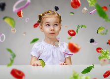 Eating fresh fruit Royalty Free Stock Photography