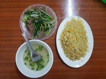 Eating in hanoi stock photography