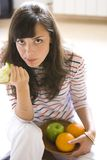 Eating healthy Stock Photos