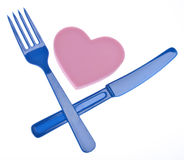 Eating Heart Healthy Stock Photography