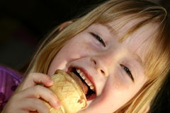 Free Eating Ice Cream Stock Images - 1835144