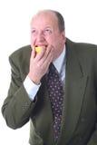 Eating lemon Stock Photo
