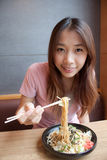 Eating Noodle