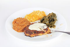 Eating Soul Food Stock Images