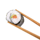 Eating sushi Royalty Free Stock Photos