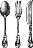 Eating utensil Stock Images