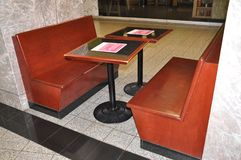 Eating Zone Furniture inside Brookfield Place in Toronto of Ontario Province Canada. On 24th June 2017 Stock Photography