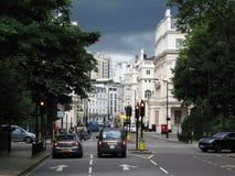 Eaton广场在伦敦 免版税库存照片