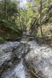 Eaton Canyon Creek in the San Gabriel Mountains Stock Images