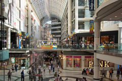 Eaton Centre in Toronto Stock Photos