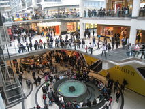 Eaton Centre in Toronto, Canada Royalty Free Stock Images