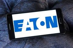 Eaton Korporation logo Arkivbild