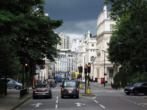 Eaton Square in London Royalty Free Stock Photos