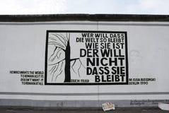 Eats Side Gallery Berlin Wall Royalty Free Stock Photo