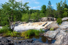 Eau Claire County Park, Wisconsin, USA royalty free stock image