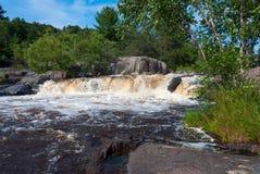 Eau Claire River - Eau Claire County Park, de V.S. Stock Foto's