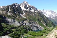 EAU d'Olle, Massif des Grandes Rousses, Γαλλία στοκ εικόνα