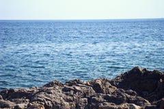 Eau de mer calme photographie stock