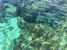 Eau de mer dans le lipe du thailland Photos libres de droits