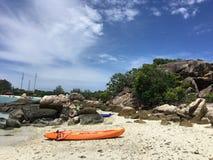 Eau de mer dans le lipe du thailland Photo libre de droits