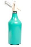 eau de seltz de siphon de préparation en métal d'ampoule la vieille Photographie stock libre de droits