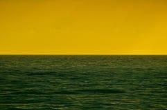 eau de surface d'océan Images libres de droits