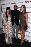 Eau-de-vie fine, Brandy Norwood, Keisha Epps, Omar Epps, The Rolling Stones, Rolling Stones Photographie stock
