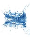 Eau doux bleu Photographie stock libre de droits