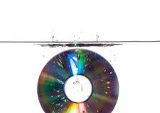 Eau du fond CD Image stock