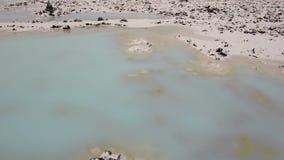 Eau glacée de l'Islande banque de vidéos