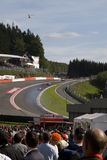 eau rouge Obrazy Royalty Free