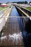 eau usagée Image stock