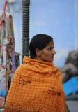 Eautiful Indian girl  at Pushkar fair Royalty Free Stock Photography