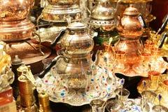 Eautiful souvenirs dishes art stock image