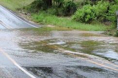 Eaux d'inondation Image stock