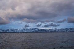 Eaux profondes du Lac Léman 2 Image stock
