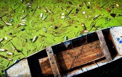 eaux résiduaires image stock