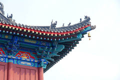 Eave cinese Fotografia Stock